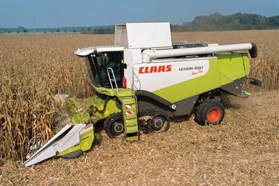 Claas Conspeed Linear, maize harvesters for Claas Lexion and Tucano