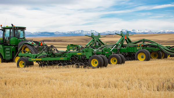 John Deere introduces 60-foot 1895 No-Till Drill and ProSeries™ Openers