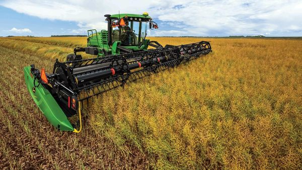 John Deere Targets Canola Growers with New W170 Windrower