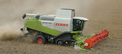 La Claas Lexion 580 World Champion Combine