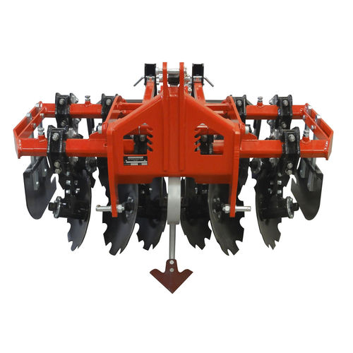 mounted disc harrow with hydraulic adjustment 3-point hitch GV Series