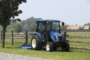 New Holland Boomer 3000 tractors and Continuously Variable Transmission
