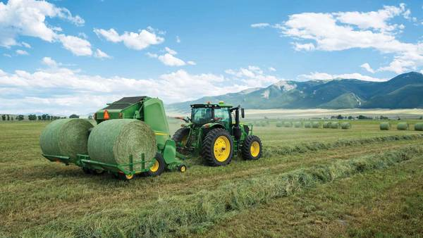 Two John Deere Hay Tool Innovations Earn International Ag Engineering Awards